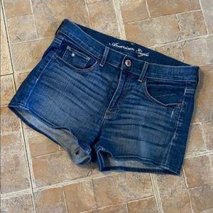 American Eagle jean shorts size women's 8